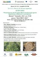 Presentazione del Progetto BALTI biodiversità agrarie leguminose tradizione e innovazione