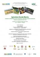 Il pensiero montessoriano come innovazione in agricoltura sociale nelle marche