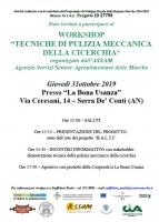 Tecniche di pulizia meccanica della Cicerchia di Serra Dé Conti