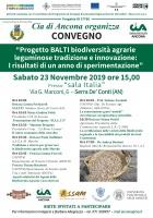 Progetto BALTI biodiversità agrarie leguminose tradizione e innovazione: i risultati di un anno di sperimentazione